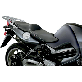 Sargent World Sport Performance Low Seat With Silver Welt - 2010 BMW F 800 S Sargent World Sport Performance Seat With Black Welt