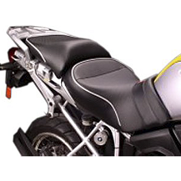 Sargent World Sport Performance Low Seat With Silver Welt - 2010 BMW R 1200 GS Sargent World Sport Performance Seat With Black Welt