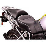Sargent World Sport Performance Low Seat With Silver Welt - SARGENT Motorcycle Products