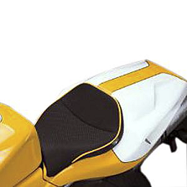 Sargent World Sport Performance Seat With Yellow Welt - 2002 Ducati Monster 620S I.E. Sargent World Sport Performance Seat With Black Welt