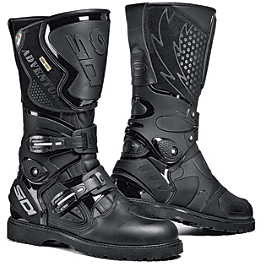 SIDI Adventure Gore-Tex Boots - Alpinestars Tech-7 Supermoto Boots