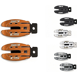 SIDI Crossfire / Charger Narrow Replacement Buckles - SIDI Crossfire / Charger Replacement Rear Upper Covers