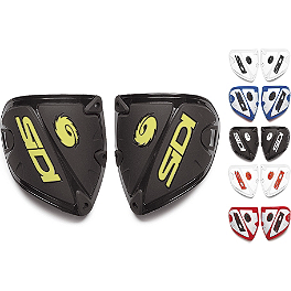 SIDI Crossfire Shin Plates - SIDI Crossfire / Charger Replacement Rear Upper Covers