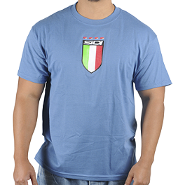 SIDI Shield T-Shirt - Alpinestars Paolo Basic Slim Fit T-Shirt