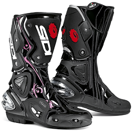 SIDI Women's Vertigo Lei Boots - Alpinestars Women's Stella GP Plus Gloves