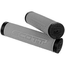 Scott SXII ATV Grips - Thumb Throttle - Scott 87 OTG With Nofog Fan - Black