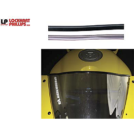 Lockhart Phillips Windscreen Trim - 2007 Honda CBR1000RR Lockhart Phillips Afterburner LED Blinker Tail Light