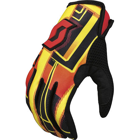 2013 Scott 350 Gloves - Hyper - Main