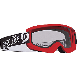 Scott Youth Agent Goggles - 2011 Fly Racing Youth Kinetic Gloves