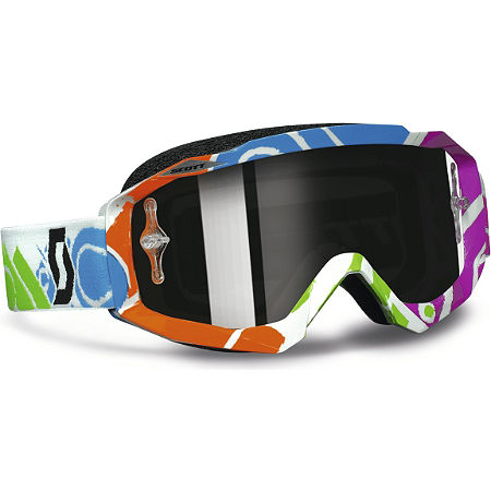 2013 Scott Hustle Graphic Goggles - Chrome - Main