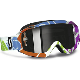 2013 Scott Hustle Graphic Goggles - Chrome - Scott Recoil Xi Pro Graphic Goggles - Chrome