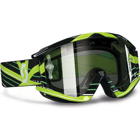 Scott Recoil Xi Pro Graphic Goggles - Chrome - Main