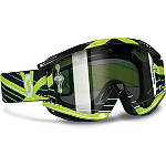 Scott Recoil Xi Pro Graphic Goggles - Chrome - Scott Dirt Bike Goggles