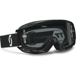 Scott Split OTG Sand Dust Goggles - AXO Junior TMKP Knee Guards
