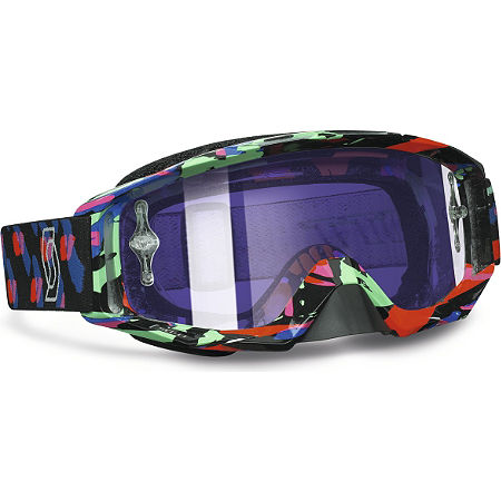 2013 Scott Tyrant Graphic Goggles - Chrome - Main