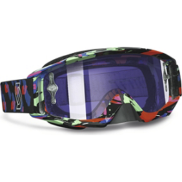 2013 Scott Tyrant Graphic Goggles - Chrome - Scott Tyrant Filmsystem Goggles