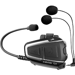 Cardo Systems Q3 Single Headset - Scala Rider Q2 Pro Single Headset