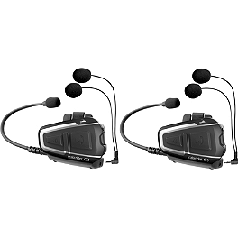 Cardo Systems Q3 MultiSet - Scala Rider G9 Headset Powerset