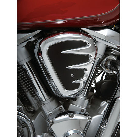 Show Chrome Air Cleaner Cover - Contours - Main