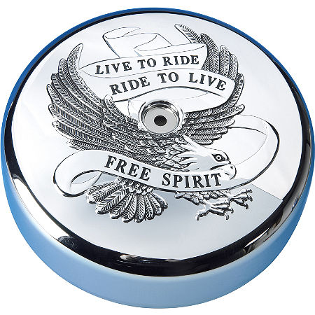 Show Chrome Air Cleaner Cover - Free Spirit - Main