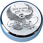 Show Chrome Air Cleaner Cover - Free Spirit - Show Chrome Cruiser Fuel and Air