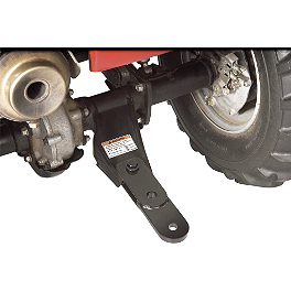 Show Chrome ATV Hitch Extension - Quadboss 3-Way Hitch Adapter