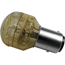 Show Chrome 1157 LED Bulb - Show Chrome Mini Brass Padlock