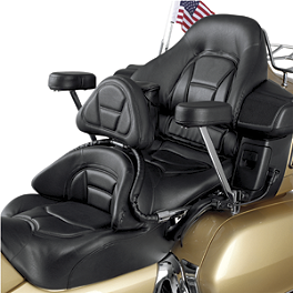Show Chrome Driver Backrest/Passenger Armrest Combo Kit - 2007 Honda Gold Wing Airbag - GL1800 Show Chrome Heel-Toe Shifter
