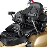 Show Chrome Driver Backrest/Passenger Armrest Combo Kit - Cruiser Sissy Bars