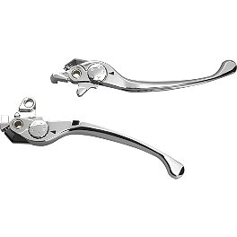 Show Chrome Smooth Blade Brake Lever - 2007 Honda Gold Wing 1800 Audio Comfort Navigation - GL1800 PC Racing Flo Oil Filter