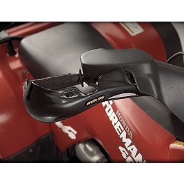 Show Chrome Brush Guards - Black - Show Chrome ATV Heated Grips With Thumb Warmer