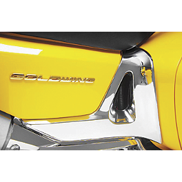 Show Chrome Battery Side Cover - Chrome - 2007 Honda Gold Wing 1800 Audio Comfort - GL1800 Show Chrome Handlebar Clamp Plugs