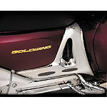 Show Chrome Battery Side Cover With Rubber Inserts - Chrome - Cruiser Battery Box Cover
