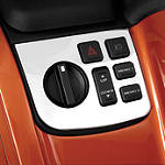 Show Chrome Control Panel Accent -  Cruiser Dash and Gauges