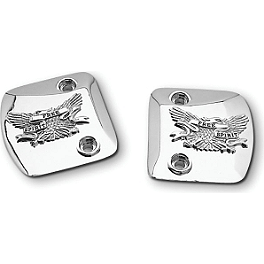Show Chrome Cam Cover - Free Spirit - 1996 Honda Gold Wing Aspencade 1500 - GL1500A Show Chrome Slider Brake Pedal - Flame