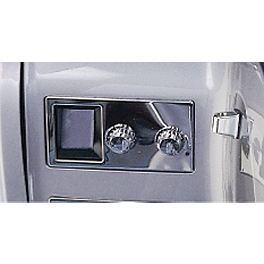 Show Chrome C.B. Unit Accent Panel - 1993 Honda Gold Wing Interstate 1500 - GL1500I Show Chrome Slider Brake Pedal - Flame