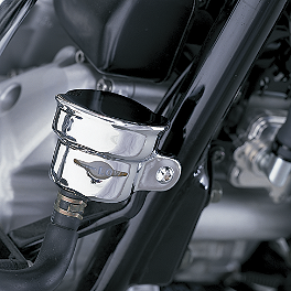Show Chrome Rear Brake Reservoir Cover - Celestar - Show Chrome Driving Light Kit - Contour