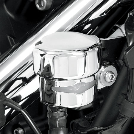 Show Chrome Rear Brake Reservoir Cover - Celestar - Main