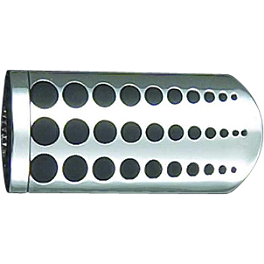 "Show Chrome Case Guard Peg Set With 1"" Clamp - Dot - Show Chrome Turn Signal Grilles"