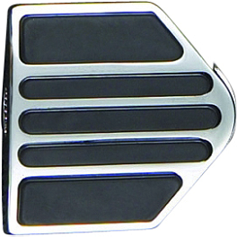 "Show Chrome Case Guard Peg Set With 1"" Clamp - Mini Board - Show Chrome Air Cleaner Cover - Contours"