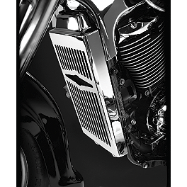 Show Chrome Radiator Grill - Celestar - 2006 Honda VTX1800C2 Show Chrome Smooth Blade Brake Lever
