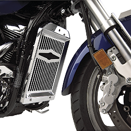 Show Chrome Radiator Grill - Celestar - Kuryakyn Brake Component Dress-Up Kit