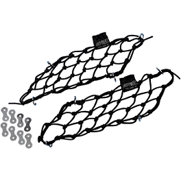 HOPNEL Cubbynets Saddlebag Lid Nets - 2008 Honda Gold Wing 1800 Premium Audio - GL1800 Hopnel Triple Trunk Pouch