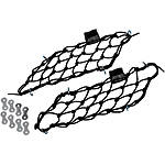 HOPNEL Cubbynets Saddlebag Lid Nets - Dirt Bike Cargo Accessories