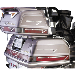 Show Chrome Cruis Wing 220 Accent Grilles - 1995 Honda Gold Wing SE 1500 - GL1500SE Show Chrome Grommet Set