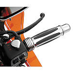 Show Chrome Handlebar Dampeners - Cruiser Bar Ends