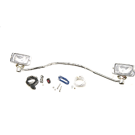 Show Chrome Arm Mount Driving Light Kit - Cobra Lightbar Relocator Kit