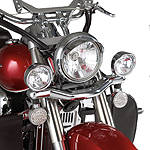 Show Chrome Driving Light Kit - Contour - Cruiser Motorcycle Light Bars