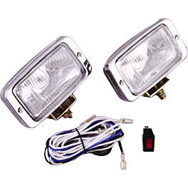 Show Chrome Driving Light Kit - Halogen - 2003 Honda VTX1300S Show Chrome Helmet Holder Pin - 10mm