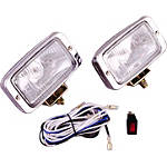 Show Chrome Driving Light Kit - Halogen - Cruiser Light Bars